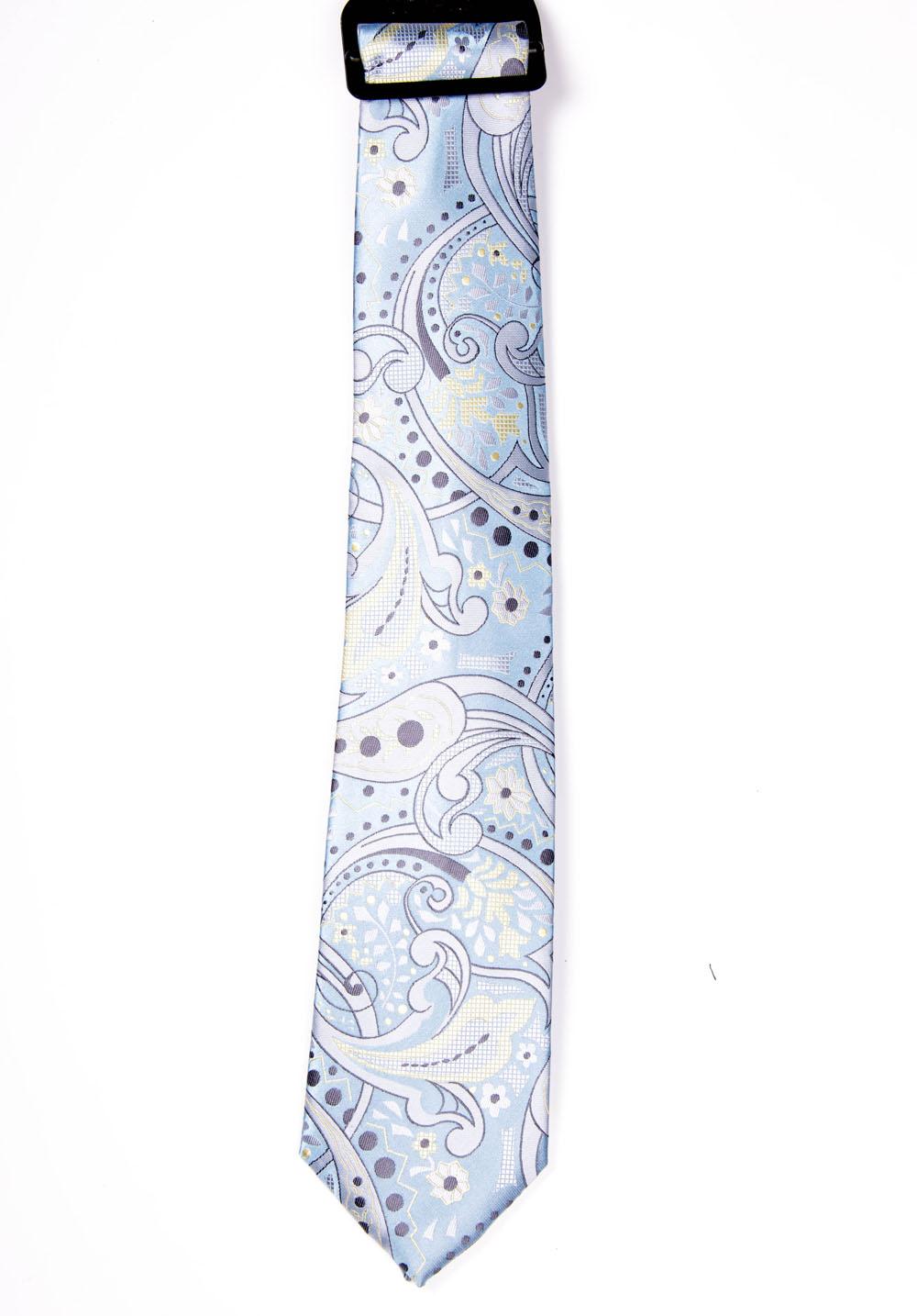 cravata lata b u0103rba u021bi bleu